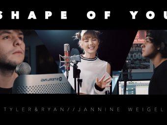 Ed Sheeran – Shape Of You (Jannine Weigel ft.Tyler & Ryan)